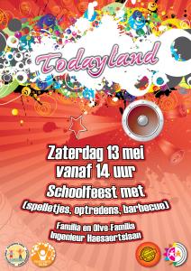 Schoolfeest affiche 2017